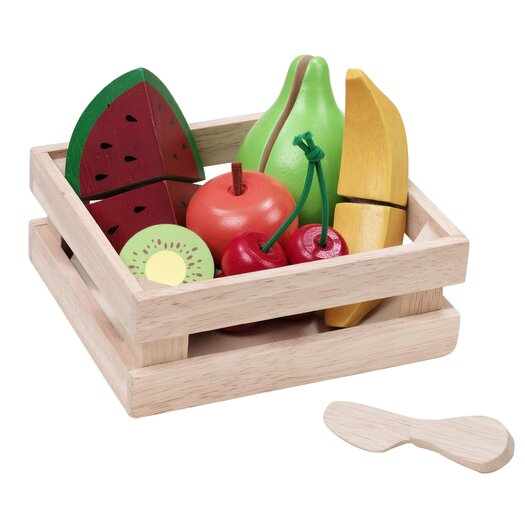Wonderworld WonderEducation Fruit Basket Play Set