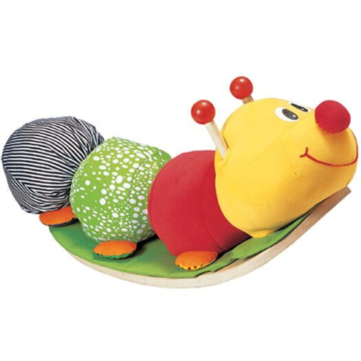Wonderworld Rocking Caterpillar Ride-On Plush Rocker
