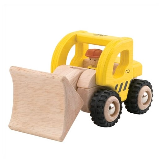 Wonderworld Mini Loader Wooden Vehicle Excavator