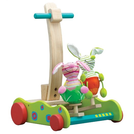 Wonderworld Hopping Bunny Walker Push Toy