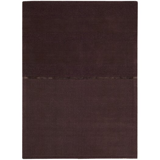 Calvin Klein Home Rug Collection Vale Burgundy Area Rug