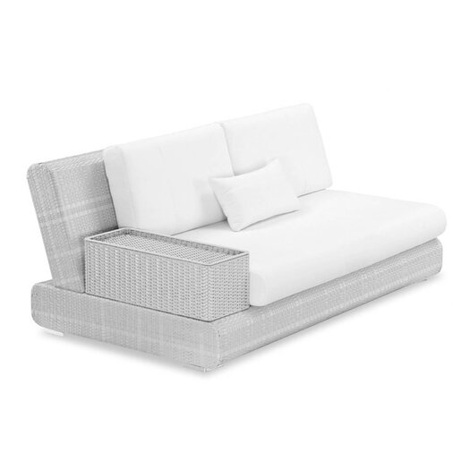 100 Essentials Sumba Loveseat Sectional Piece with Cushions