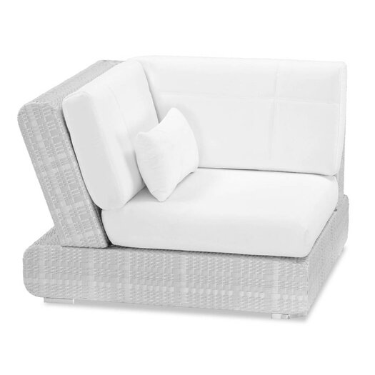 100 Essentials Sumba Corner Sectional Piece with Cushions