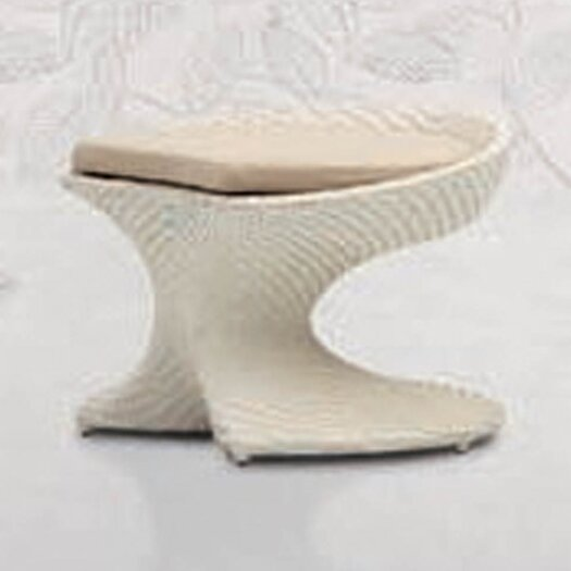 100 Essentials Party Foot Stool with Cushion