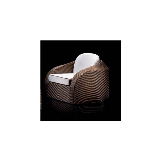 100 Essentials Eclipse Blockhouse Chair with Cushions
