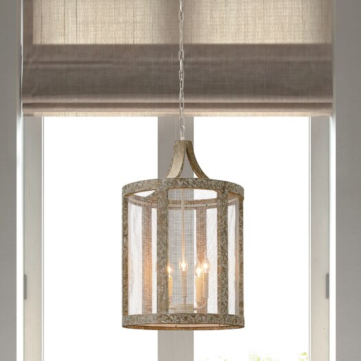 Zuo Era Basalt 5 Light Foyer Pendant