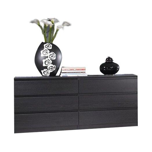 Tvilum Scottsdale 6 Drawer Dresser