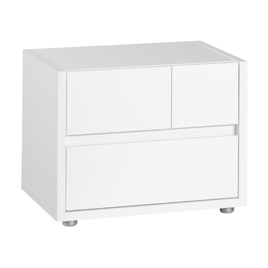 Tvilum Pilsen 2 Drawer Nightstand