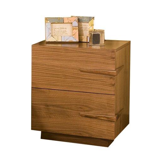 Tucker Furniture Sideways 2 Drawer Nightstand