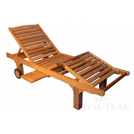 Regal Teak Sun Chaise Lounge