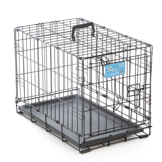 Midwest Homes For Pets Life Stages Fold & Carry Double Door Pet Crate