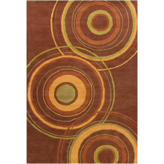 Filament  LLC Cinzia Brown Geometric Area Rug