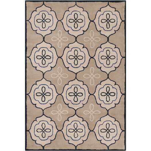 Filament  LLC Cinzia Tan / Ivory Area Rug