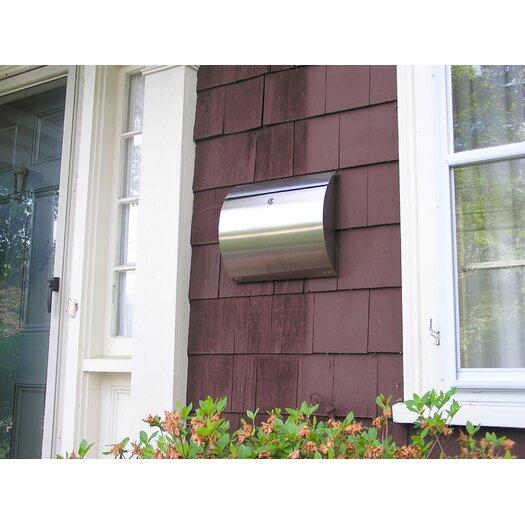 Spira Mailbox Wall Mounted Mailbox