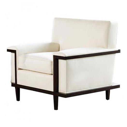 Global Views Lucy Fabric Arm Chair