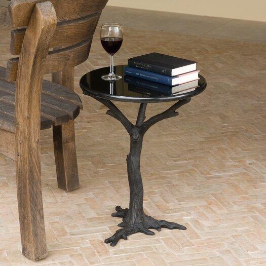 Global Views Faux Bois End Table