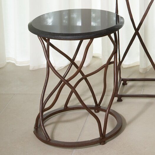 Global Views Branch End Table