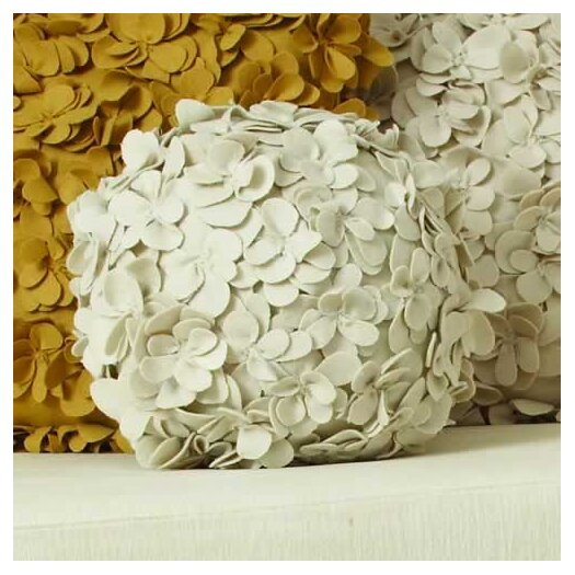 Global Views Komaki Ball Wool Pillow