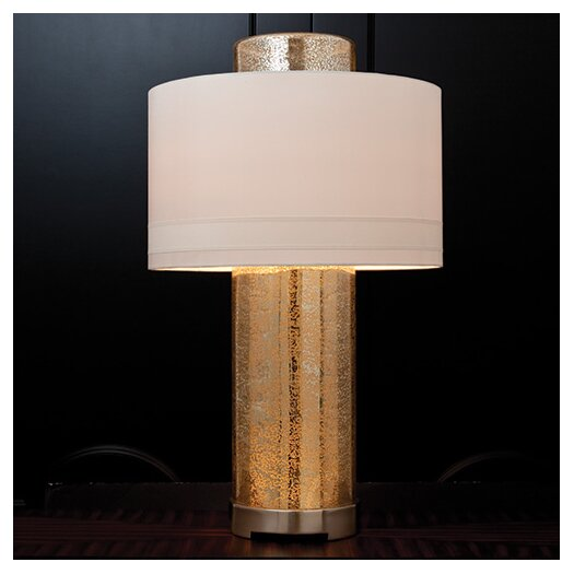 """Global Views Lighthouse 33.5"""" H Table Lamp with Drum Shade"""