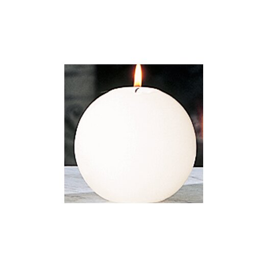 Global Views Unscented Ball Novelty Candle