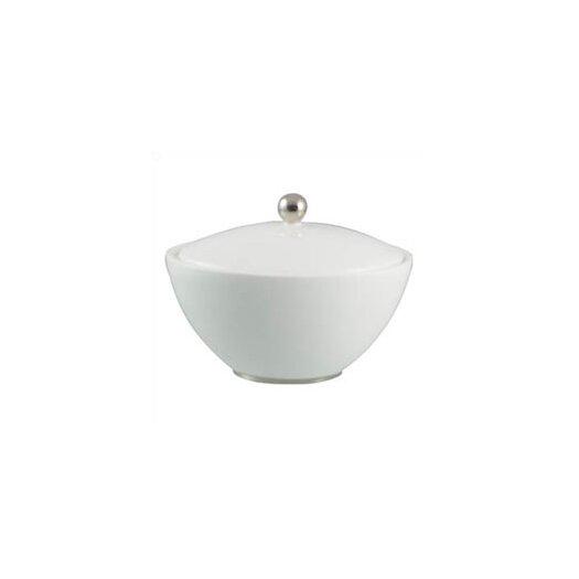 Jasper Conran Platinum Fine Bone China Sugar Bowl with Lid