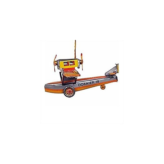 Alexander Taron Tin Seaplane Ornament