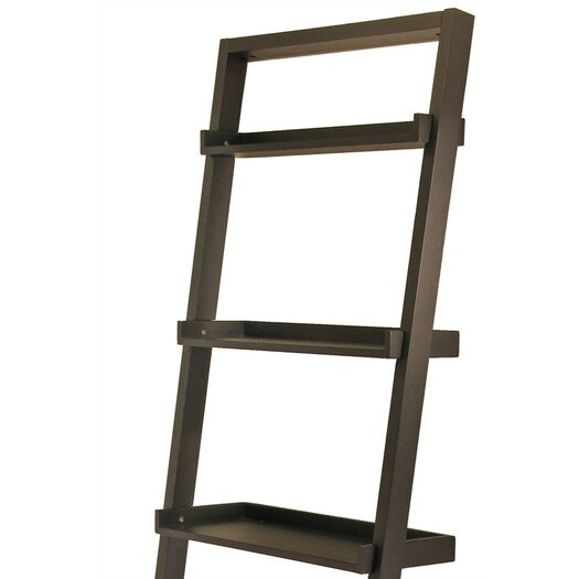 """Winsome Bailey Leaning 74.6"""" Bookcase"""