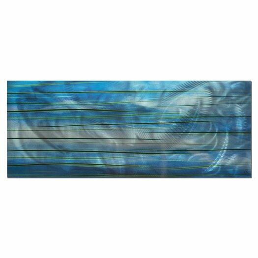 Metal Art Studio Ocean View Graphic Art Plaque