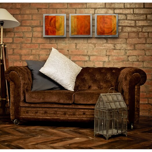 Metal Art Studio Essence Autumn 3 Piece Canvas Art Set