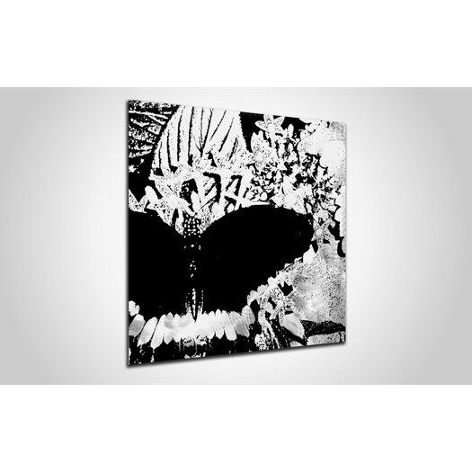 Metal Art Studio Butterfly Graphic Art Plaque