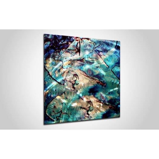 Metal Art Studio Cool Jazz Graphic Art Plaque