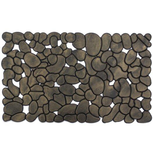 Entryways Rubber Stones Recycled Rubber Doormat