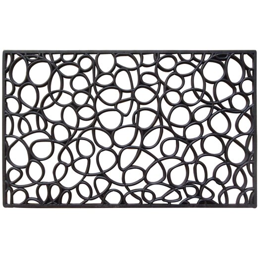 Entryways Recycled Rubber Loop Doormat