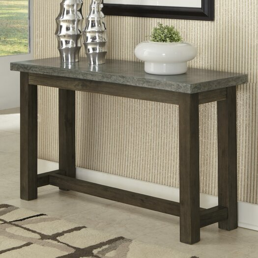 Home Styles Concrete Chic Console Table
