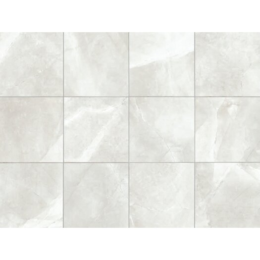 """Faber Classic High Definition 12"""" x 3"""" Bullnose Tile Trim in Ivory"""