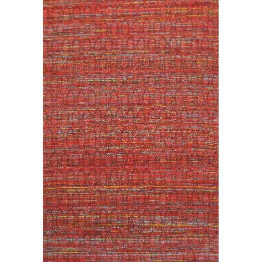 Pasargad Sari Silk Dark Red Area Rug