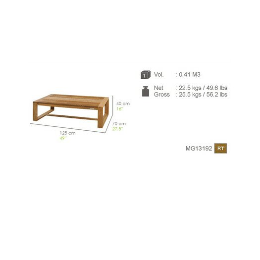 Mamagreen Avalon Coffee Table