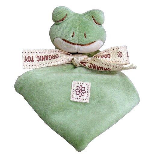 Miyim Nursery Frog Lovie Blankie