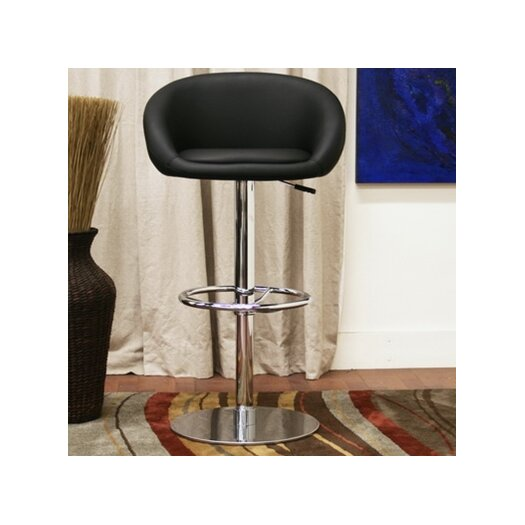 Wholesale Interiors Baxton Studio Wynn Adjustable Height Swivel Bar Stool