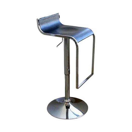 Wholesale Interiors Adjustable Height Swivel Bar Stool