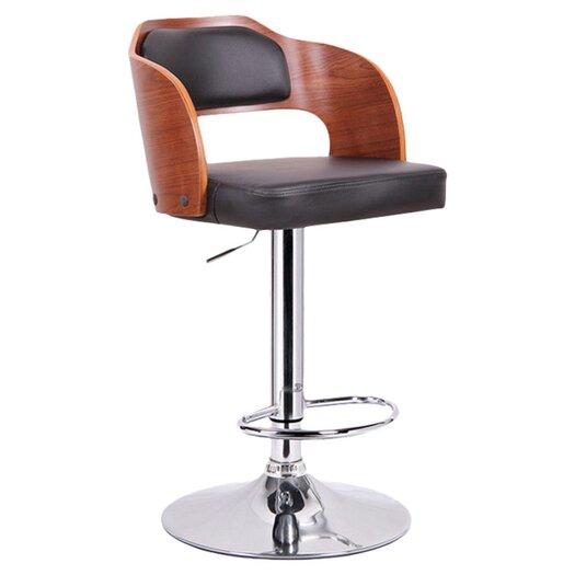 Wholesale Interiors Baxton Studio Sitka Adjustable Height Swivel Bar Stool