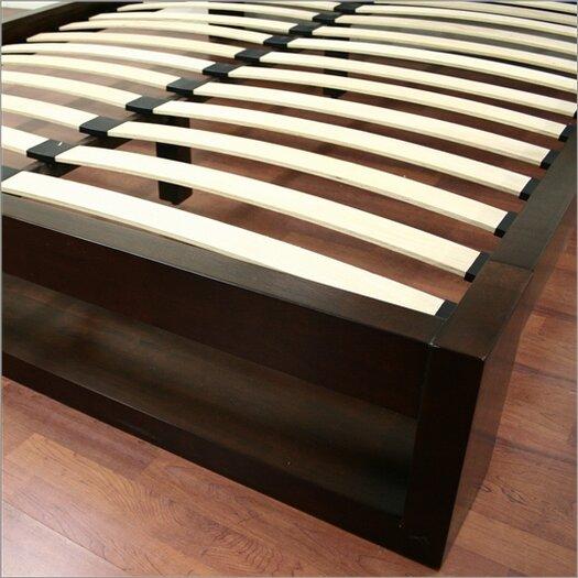 Wholesale Interiors Baxton Studio Felton Queen Platform Bed