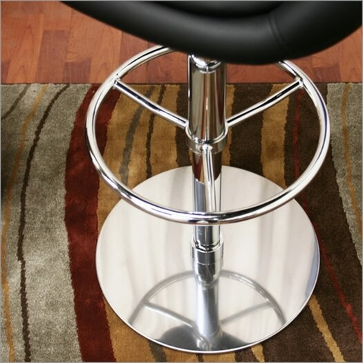 Wholesale Interiors Baxton Studio Wynn Adjustable Height Swivel Bar Stool