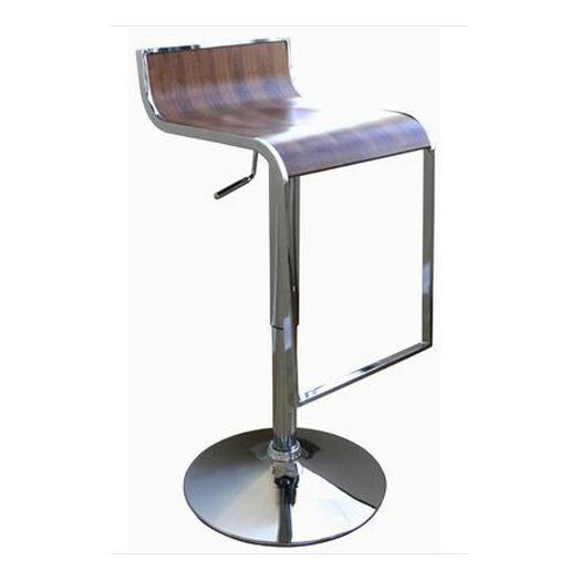 Wholesale Interiors Adjustable Height Swivel Bar Stool