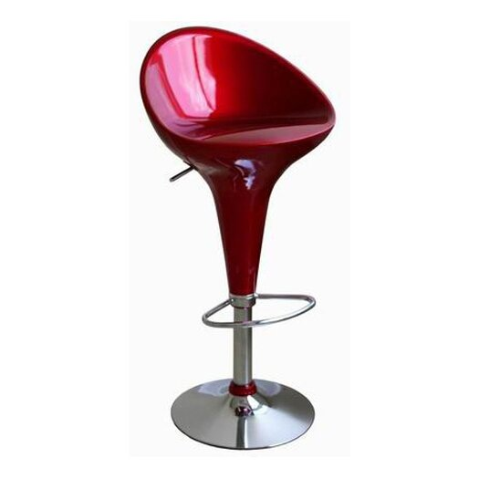 Wholesale Interiors Lucilius Adjustable Height Swivel Bar Stool