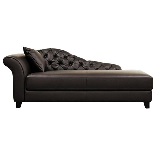 Wholesale Interiors Baxton Studio Chaise Lounge