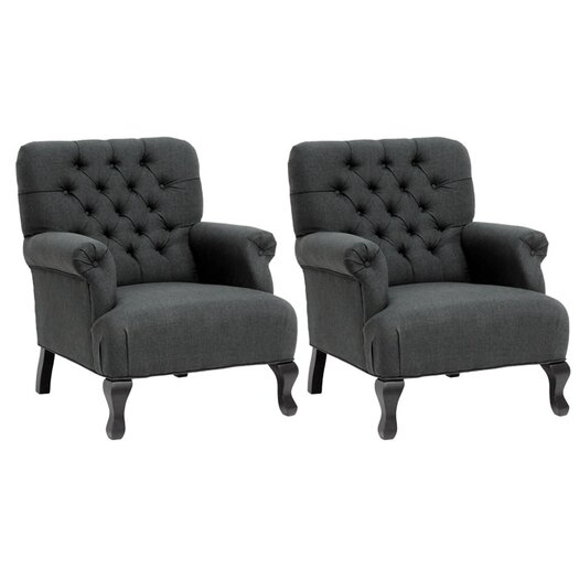Wholesale Interiors Baxton Arm Chair