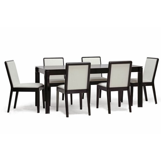 Wholesale Interiors Baxton Studio Maeve 7 Piece Dining Set