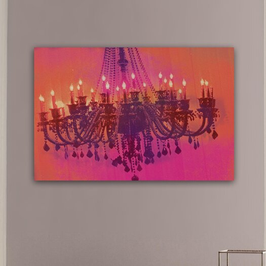 """Oliver Gal """"Light me up"""" Graphic Art on Canvas"""