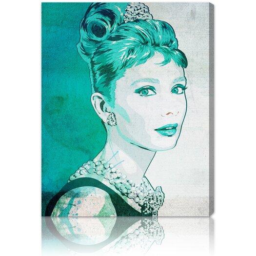 ''Classy'' Graphic Art on Canvas